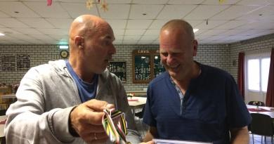 Jaap Hanssen en Bram Vazel