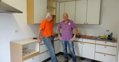 Klaas Krol (l) en Olf Pruisman