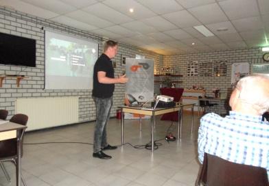 Sander Grupstra promoot onze vereniging