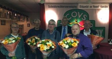 Gouden COVS- speld voor Willem Molema